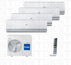 HAIER 4U26HS1ERA / AS09NS4ERA W x 4