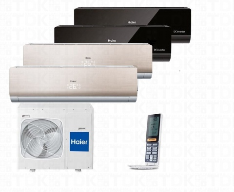 HAIER 4U26HS1ERA / AS09NS4ERA G/G/B/B x 4